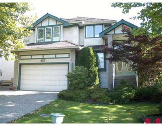 """Photo 1: 7988 REDTAIL Place in SURREY: Bear Creek Green Timbers House for sale in """"Hawkstream"""" (Surrey)  : MLS®# F2623464"""