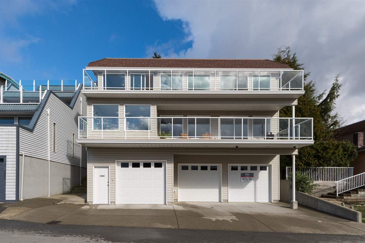 "Main Photo: 15392 COLUMBIA Avenue: White Rock House for sale in ""White Rock Hillside"" (South Surrey White Rock)  : MLS®# R2037114"