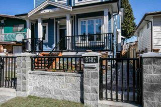 Photo 2: 2737 CHEYENNE AVENUE in Vancouver: Collingwood VE 1/2 Duplex for sale (Vancouver East)  : MLS®# R2248950