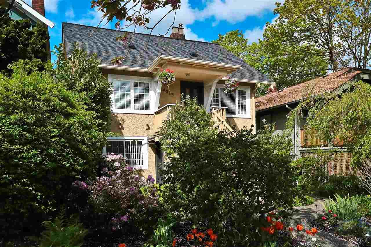 Main Photo: 4019 DUNBAR STREET in Vancouver: Dunbar House for sale (Vancouver West)  : MLS®# R2462026