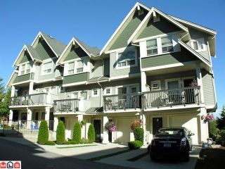 """Photo 1: 26 15065 58TH Avenue in Surrey: Sullivan Station Townhouse for sale in """"SPRINGHILL"""" : MLS®# F1027637"""