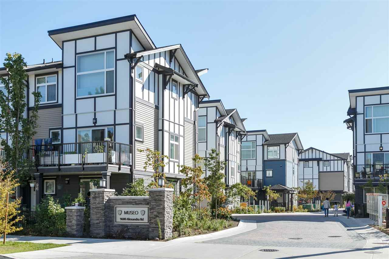 """Main Photo: 65 9680 ALEXANDRA Road in Richmond: West Cambie Townhouse for sale in """"MUSEO"""" : MLS®# R2223955"""