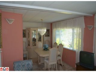 """Photo 7: 64 1640 162ND Street in Surrey: King George Corridor Manufactured Home for sale in """"CHERRY BROOK PARK"""" (South Surrey White Rock)  : MLS®# F1223930"""