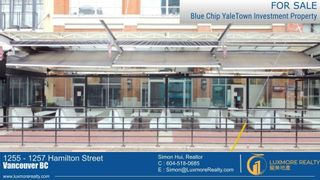 Photo 1: 1255 - 1257 HAMILTON Street in Vancouver: Yaletown Retail for sale (Vancouver West)  : MLS®# C8039151