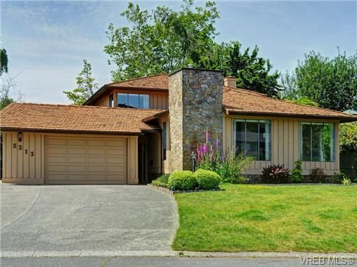 Main Photo: 2313 Foxington Pl in VICTORIA: SE Arbutus House for sale (Saanich East)  : MLS®# 733188