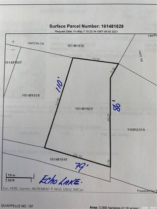 Photo 2: Lot 1 Aaron Drive in Echo Lake: Lot/Land for sale : MLS®# SK854301