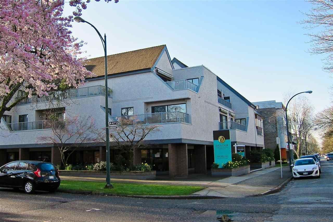 Main Photo: 206 5920 EAST BOULEVARD in Vancouver: Kerrisdale Condo for sale (Vancouver West)  : MLS®# R2156925