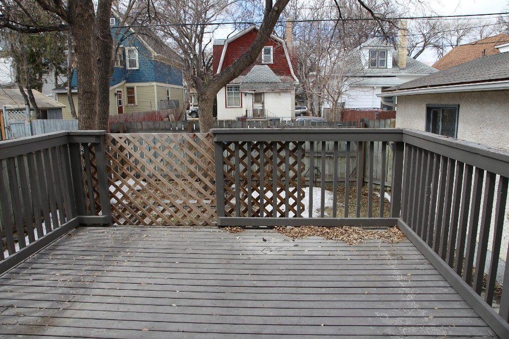 Photo 27: Photos: 224 Lipton Street in winnipeg: Wolseley Single Family Detached for sale (West Winnipeg)  : MLS®# 1407760