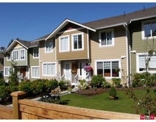 """Photo 1: 10 6110 138TH Street in Surrey: Sullivan Station Townhouse for sale in """"SENECA WOODS"""" : MLS®# F2906384"""