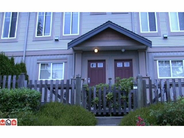 Main Photo: 58 5839 Panorama Drive in Surrey: Sullivan Station Townhouse for sale : MLS®# F1023035