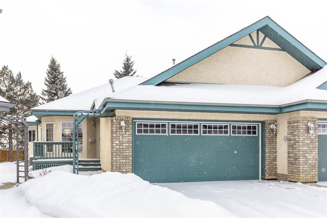 Main Photo: 12 Alana Court: St. Albert House Half Duplex for sale : MLS®# E4227590