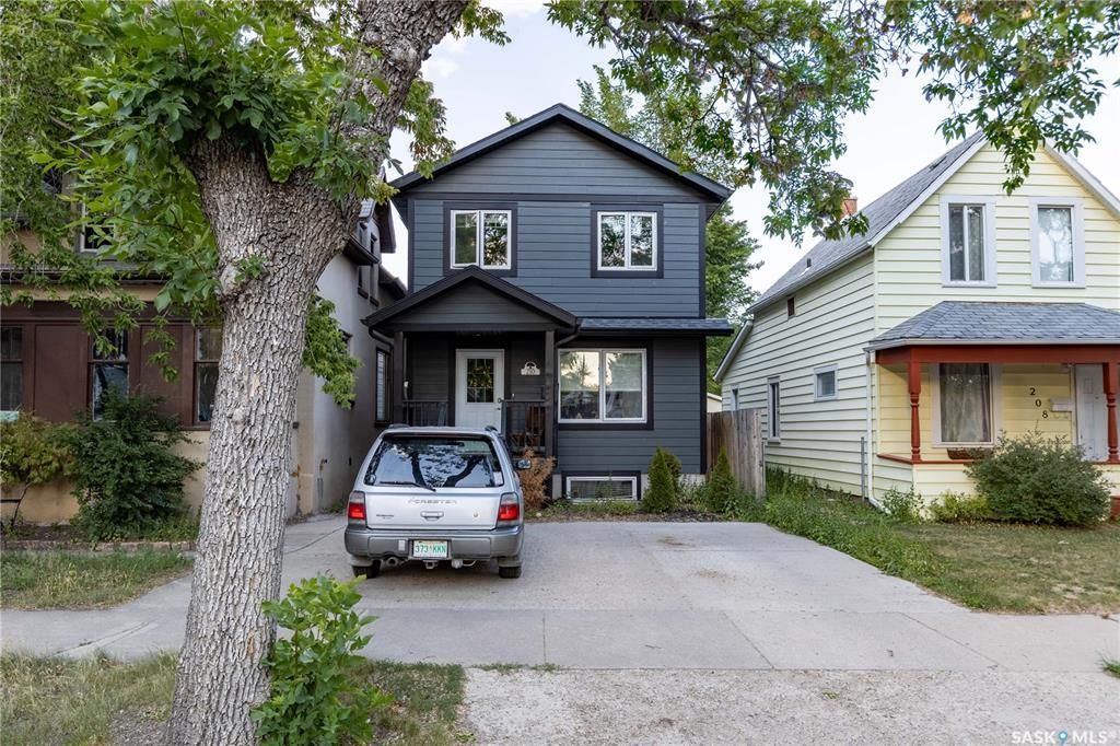 Main Photo: 210 G Avenue North in Saskatoon: Caswell Hill Residential for sale : MLS®# SK862640