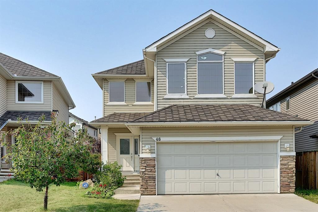 Main Photo: 46 Everhollow Avenue SW in Calgary: Evergreen Detached for sale : MLS®# A1133374
