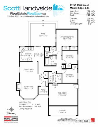 Photo 20: 11960 238B STREET in Maple Ridge: Cottonwood MR House for sale : MLS®# R2023536