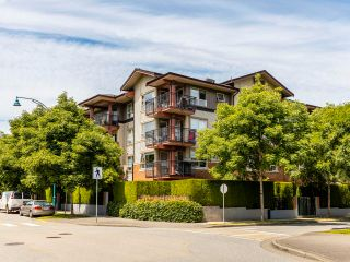 """Photo 1: 408 200 KLAHANIE Drive in Port Moody: Port Moody Centre Condo for sale in """"Salal"""" : MLS®# R2603495"""