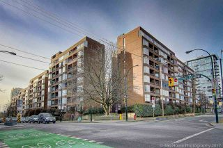 """Photo 2: 109 950 DRAKE Street in Vancouver: Downtown VW Condo for sale in """"ANCHOR POINT"""" (Vancouver West)  : MLS®# R2401708"""