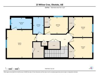 Photo 38: 23 Willow Crescent: Okotoks Semi Detached for sale : MLS®# A1083927