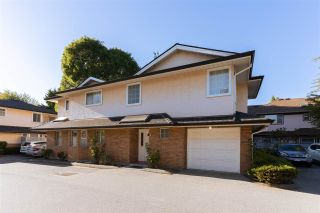 """Photo 1: 1 7691 MOFFATT Road in Richmond: Brighouse South Townhouse for sale in """"BEVERLEY GARDENS"""" : MLS®# R2485881"""