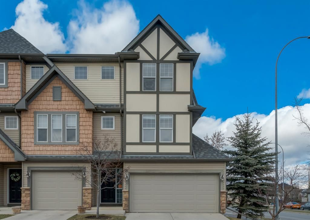 Main Photo: 4 Eversyde Park SW in Calgary: Evergreen Row/Townhouse for sale : MLS®# A1098809