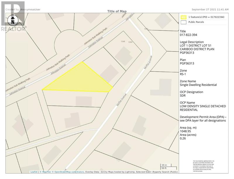 FEATURED LISTING: LOT 1 JOHNSTON Road Quesnel
