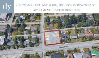 Photo 1: 701 COMO LAKE Avenue in Coquitlam: Coquitlam West Land Commercial for sale : MLS®# C8038351