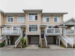 """Photo 1: 111 7179 201ST Street in Langley: Willoughby Heights Townhouse for sale in """"DENIM"""" : MLS®# F1447236"""