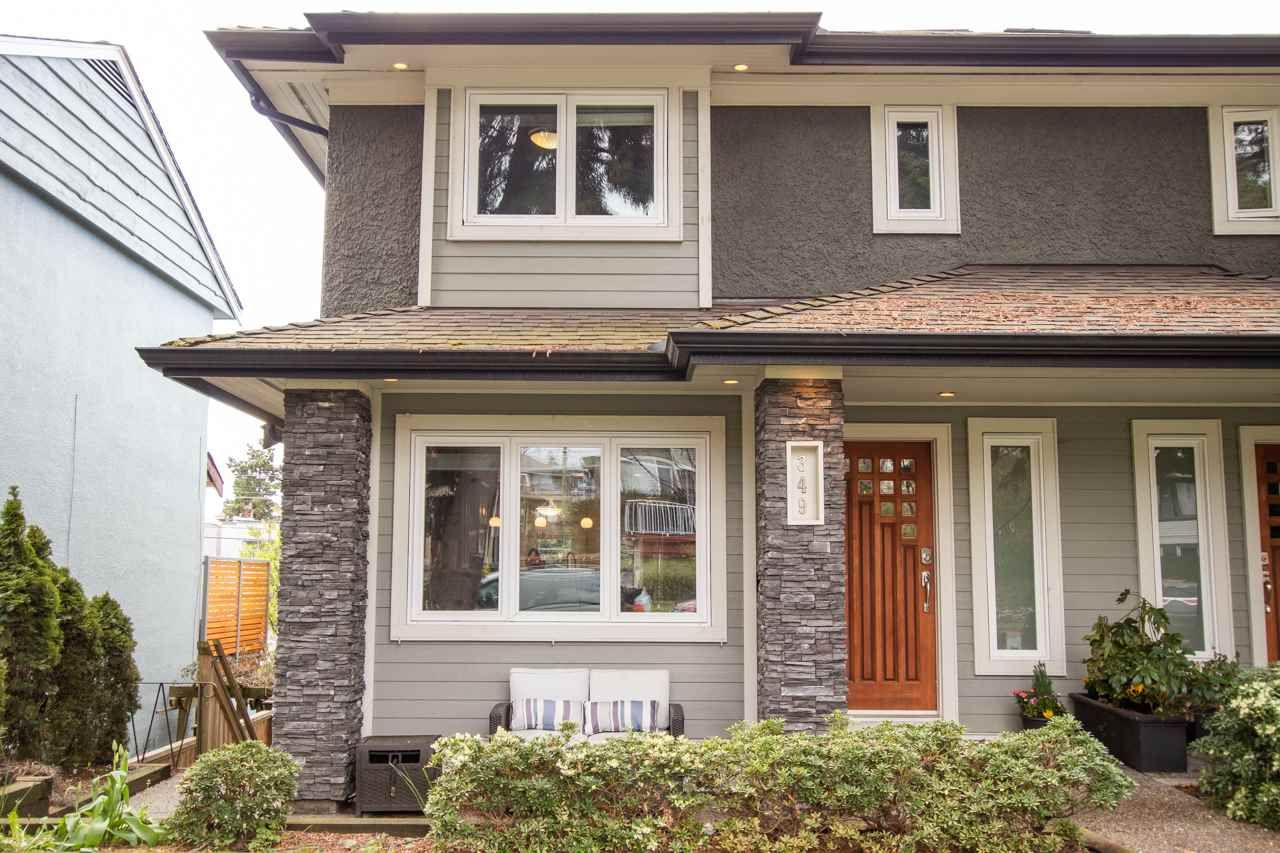 Main Photo: 349 E 4TH STREET in North Vancouver: Lower Lonsdale 1/2 Duplex for sale : MLS®# R2357642