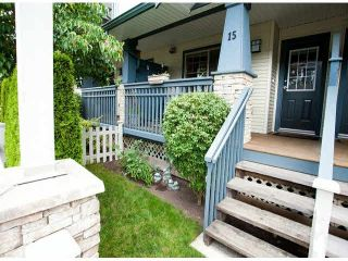 """Photo 16: 15 19250 65TH Avenue in Surrey: Clayton Townhouse for sale in """"Sunberry Court"""" (Cloverdale)  : MLS®# F1416410"""