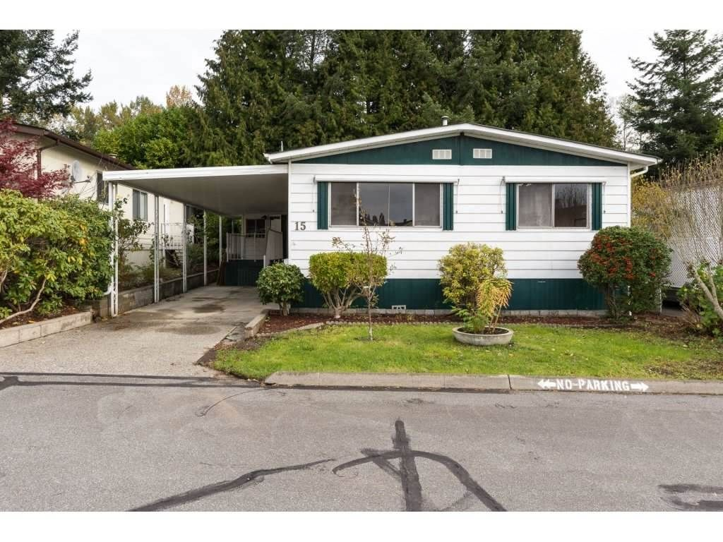 """Main Photo: 15 1640 162 Street in Surrey: King George Corridor Manufactured Home for sale in """"CHERRY BROOK PARK"""" (South Surrey White Rock)  : MLS®# R2145736"""