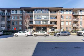 "Photo 1: 218 3107 WINDSOR Gate in Coquitlam: New Horizons Condo for sale in ""Bradley House at Windsor Gate"" : MLS®# R2350966"