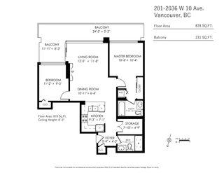 Photo 22: 201 2036 W 10TH AVENUE in Vancouver: Kitsilano Condo for sale (Vancouver West)  : MLS®# R2489797