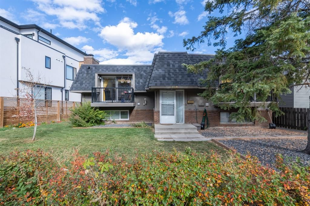 Main Photo: 3 1608 16 Avenue SW in Calgary: Sunalta Row/Townhouse for sale : MLS®# A1151538