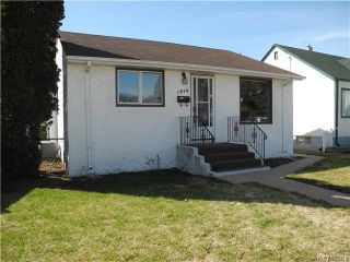 Photo 1: 1216 Valour Road in Winnipeg: West End / Wolseley Residential for sale (West Winnipeg)  : MLS®# 1609269