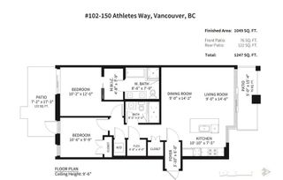 Photo 19: 102 150 ATHLETES Way in Vancouver West: False Creek Home for sale ()  : MLS®# R2250562