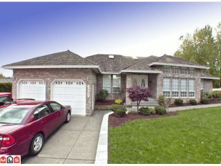 """Photo 1: 3067 SANDPIPER Drive in Abbotsford: Abbotsford West House for sale in """"SANDPIPER (EAST)"""" : MLS®# F1226297"""