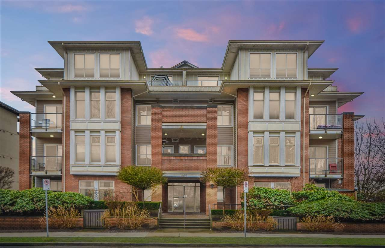 """Main Photo: 405 2488 WELCHER Avenue in Port Coquitlam: Central Pt Coquitlam Condo for sale in """"RIVERSIDE GATES PARK"""" : MLS®# R2555078"""