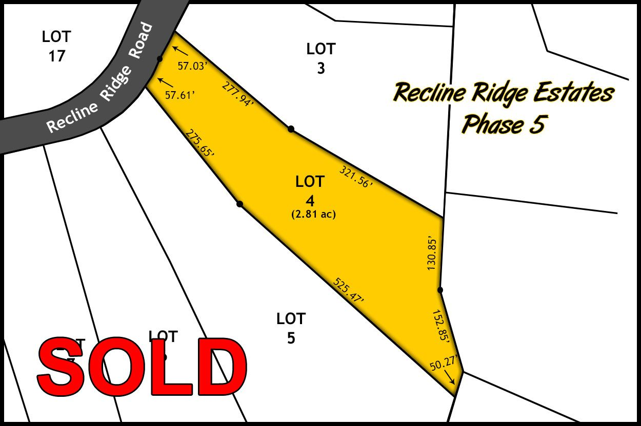 Recline Ridge Estates Phase V - Lot 4