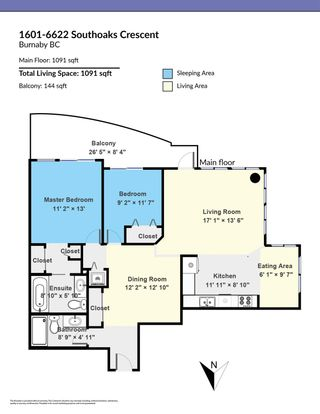"""Photo 30: 1601 6622 SOUTHOAKS Crescent in Burnaby: Highgate Condo for sale in """"GIBRALTER"""" (Burnaby South)  : MLS®# R2596768"""