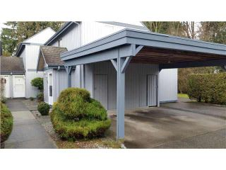 """Photo 1: 12 12334 224TH Street in Maple Ridge: East Central Townhouse for sale in """"DEER CREEK PLACE"""" : MLS®# V1128546"""