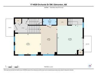 Photo 23: 17 4029 ORCHARDS Drive in Edmonton: Zone 53 Townhouse for sale : MLS®# E4251652