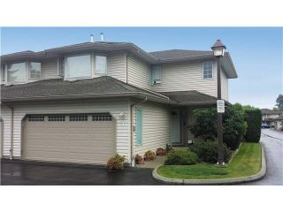 """Photo 1: 31 12268 189A Street in Pitt Meadows: Central Meadows Townhouse for sale in """"MEADOW LANE ESATES"""" : MLS®# V1094613"""