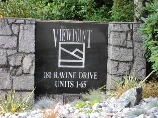 """Photo 20: # 40 181 RAVINE DR in Port Moody: Heritage Mountain Townhouse for sale in """"THE VIEWPOINT"""" : MLS®# V1024691"""
