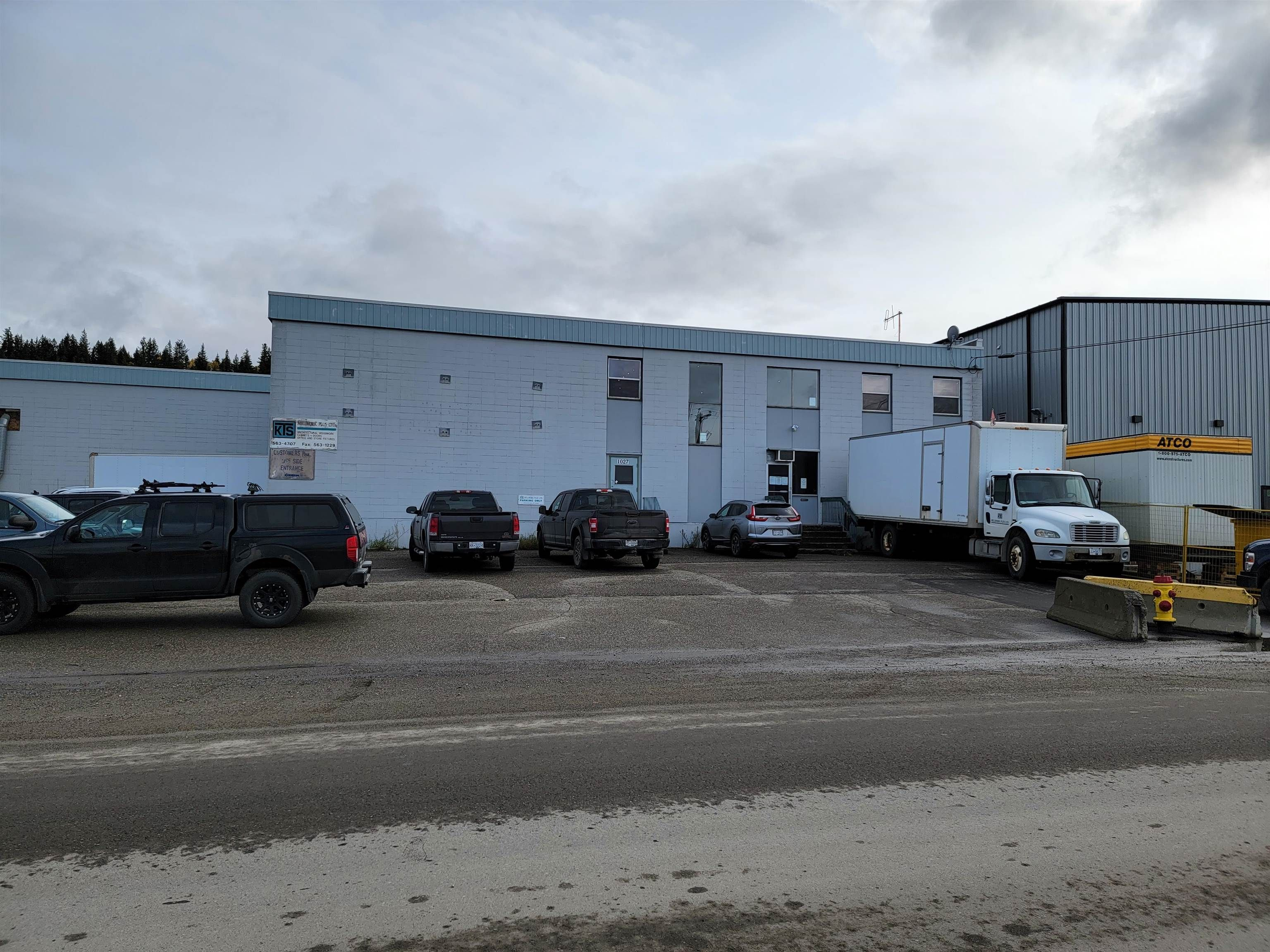 Main Photo: 1027 EASTERN Street in Prince George: BCR Industrial Industrial for lease (PG City South East (Zone 75))  : MLS®# C8037206