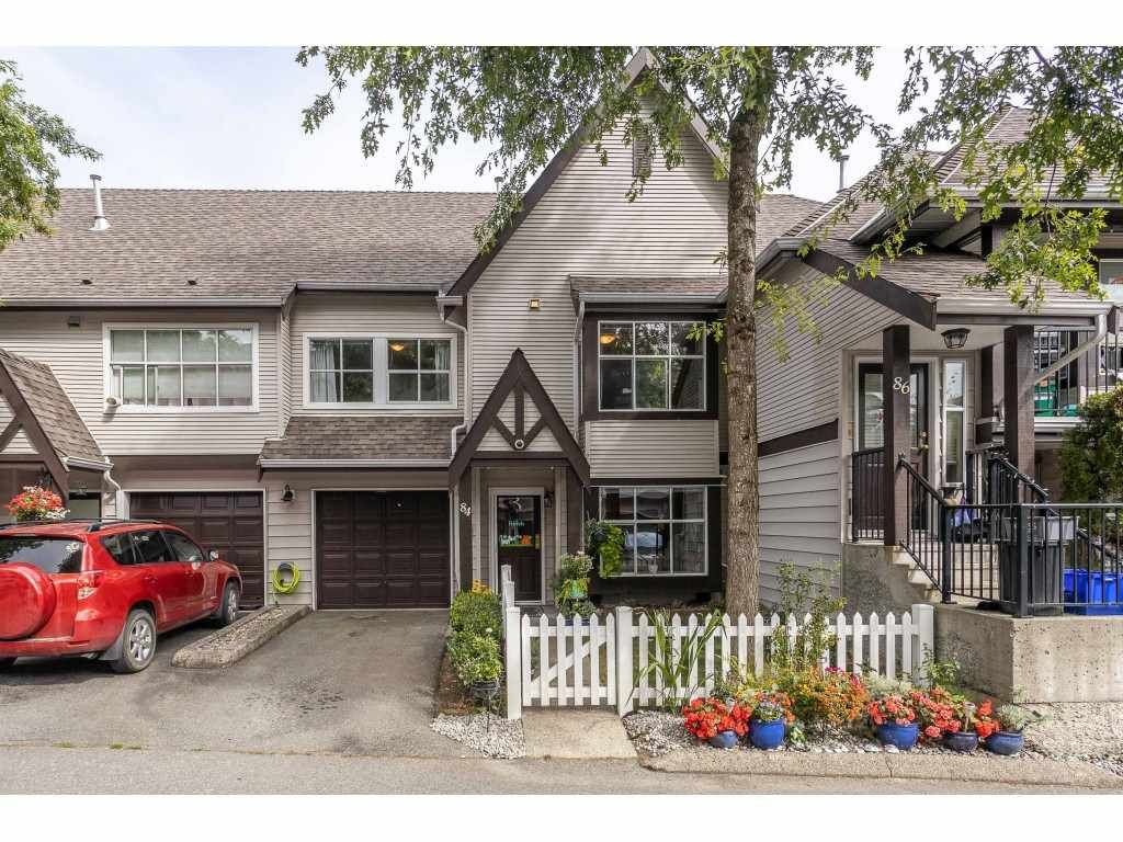 "Main Photo: 84 12099 237 Street in Maple Ridge: East Central Townhouse for sale in ""Gabriola"" : MLS®# R2489059"