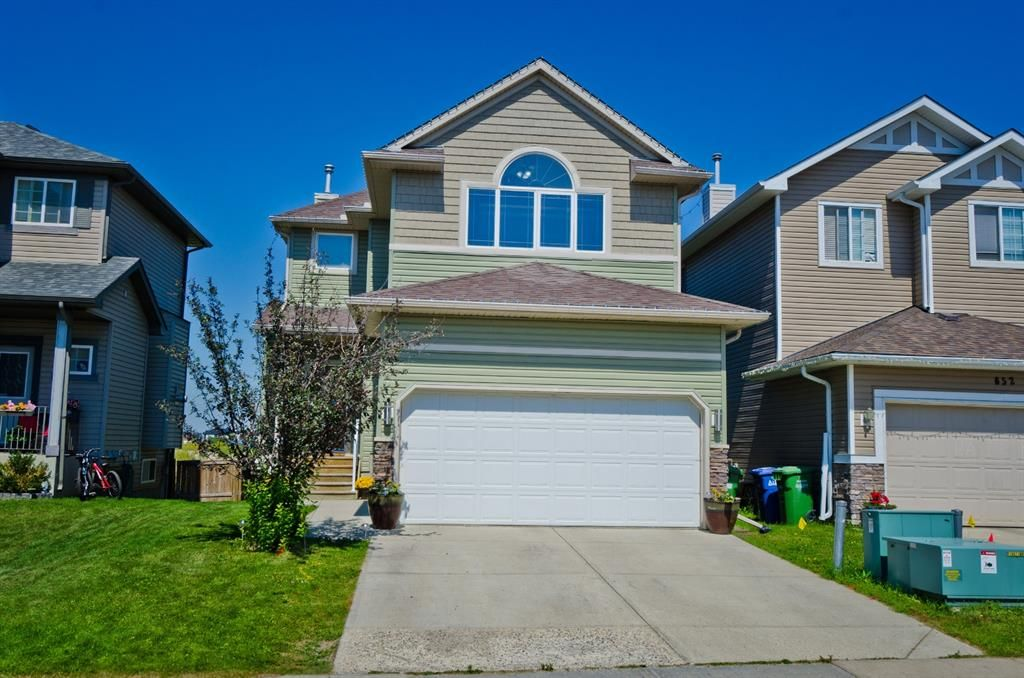 Main Photo: 656 LUXSTONE Landing SW: Airdrie Detached for sale : MLS®# A1018959