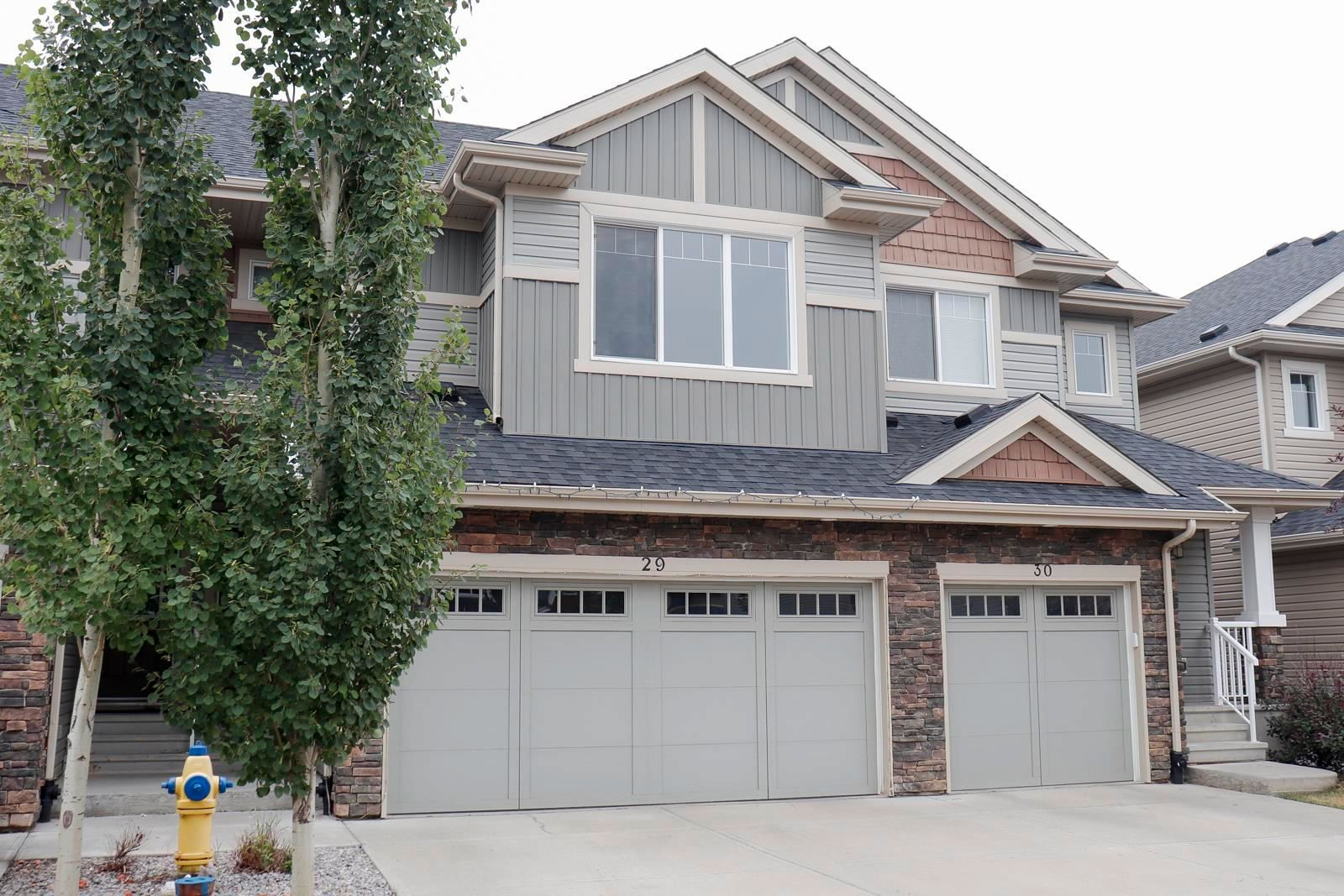 Main Photo: 29 2004 TRUMPETER Way in Edmonton: Zone 59 Townhouse for sale : MLS®# E4255315