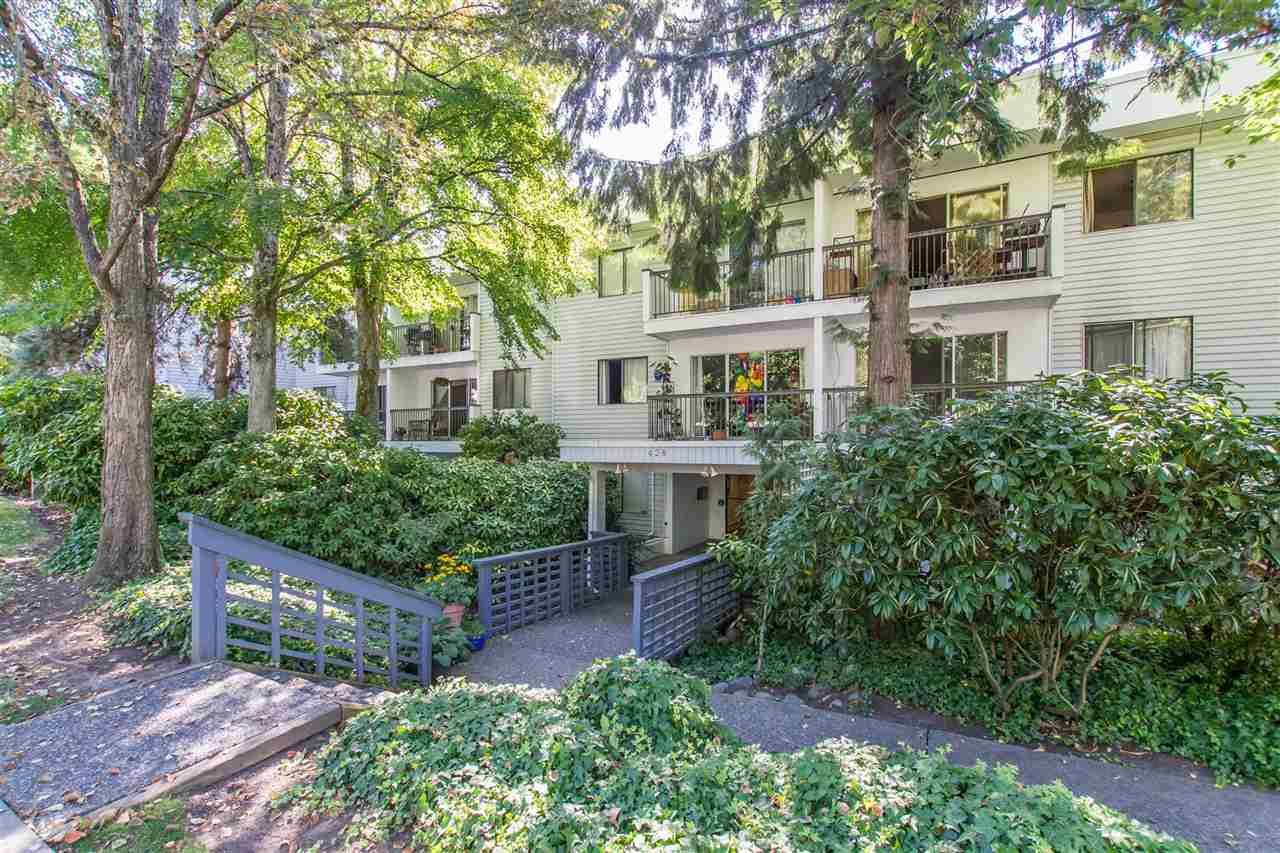 """Main Photo: 105 428 AGNES Street in New Westminster: Downtown NW Condo for sale in """"SHANLEY MANOR"""" : MLS®# R2408805"""