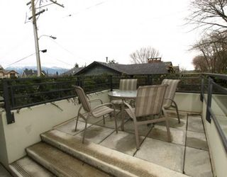 """Photo 8: 101 3595 W 18TH Avenue in Vancouver: Dunbar Townhouse for sale in """"DUKE ON DUNBAR"""" (Vancouver West)  : MLS®# V751304"""