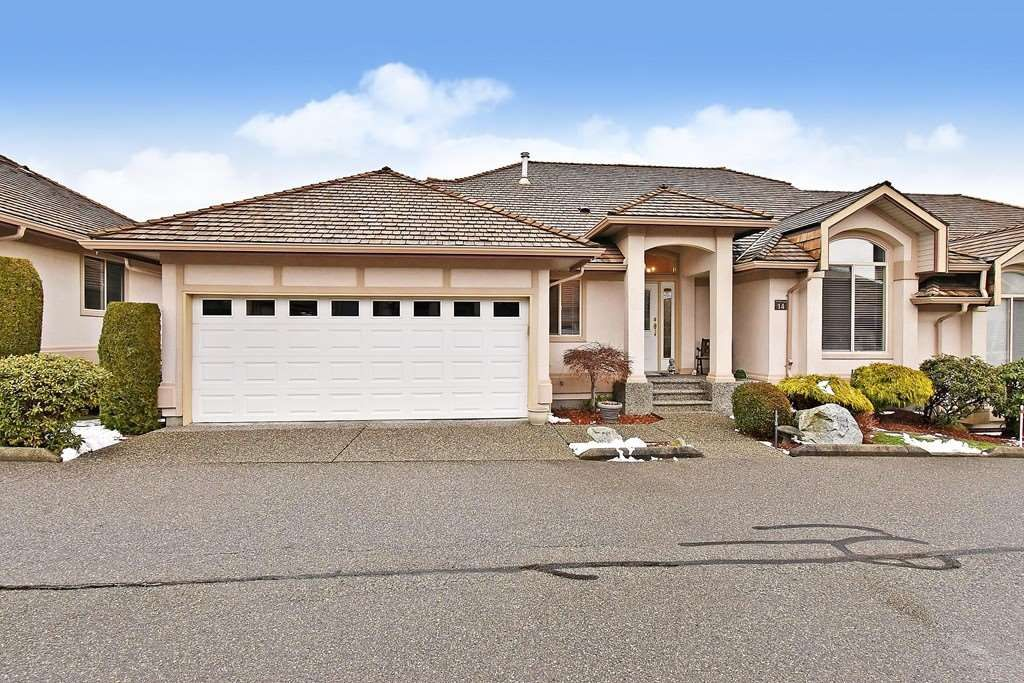 "Main Photo: 14 30703 BLUERIDGE Drive in Abbotsford: Abbotsford West Townhouse for sale in ""Westsyde"" : MLS®# R2540580"