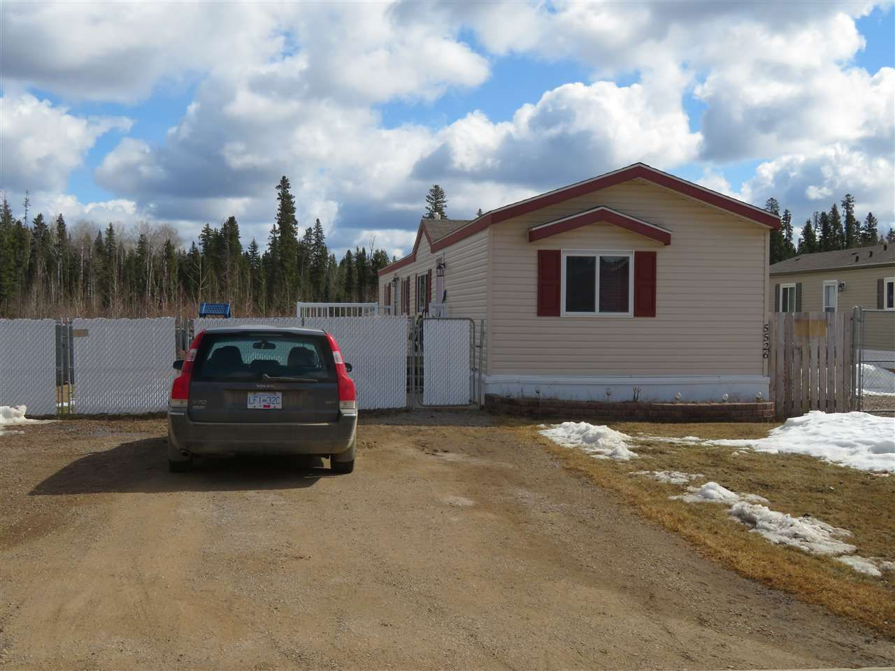 Main Photo: 5526 PINE Crescent in Fort Nelson: Fort Nelson -Town Manufactured Home for sale (Fort Nelson (Zone 64))  : MLS®# R2477622